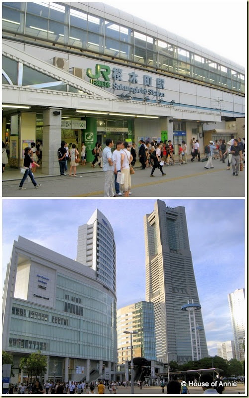 Sakuragicho Station and Yokohama Landmark Tower