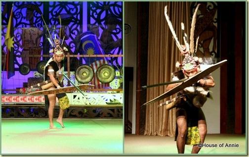 Sarawak Cultural Village Penan blowgun dance