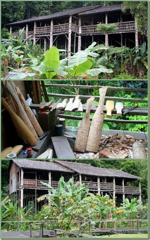 Sarawak Cultural Village Orang Ulu house