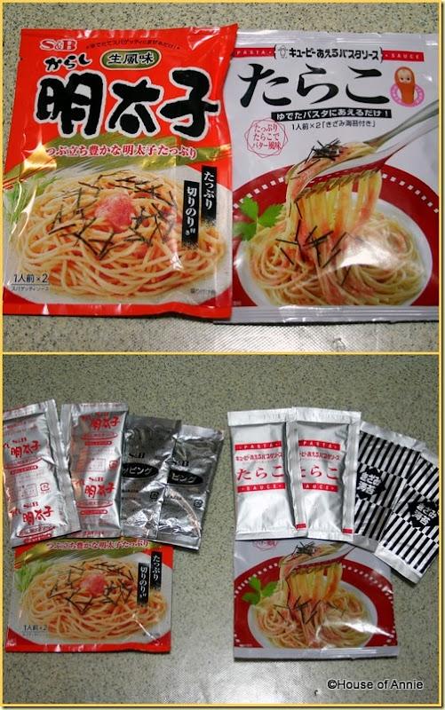 Tarako Cod Roe Spaghetti sauce