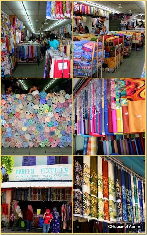 Gambier Street Kuching Textiles