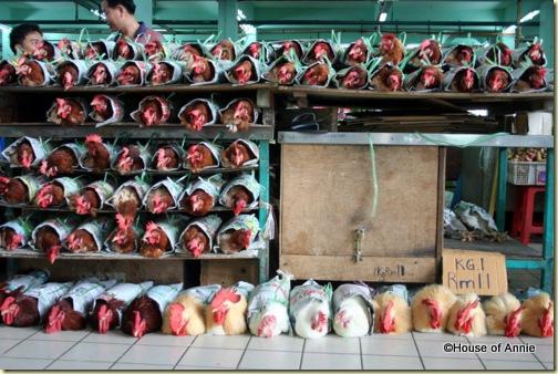Sibu Central Market Chicken Rolls