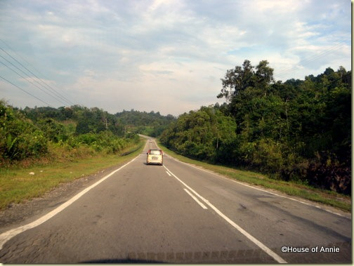 On the road to Sibu