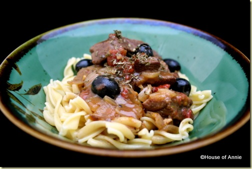 Beef Stew with Orange Zest and Olives
