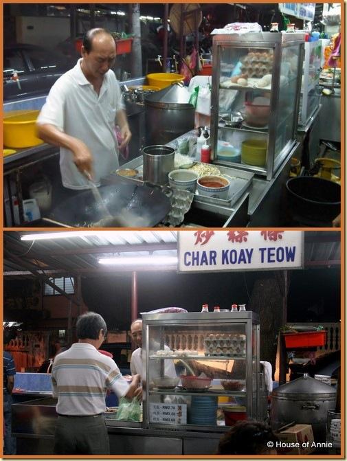 char kway teow stall - seng hin cafe - island glades - penang