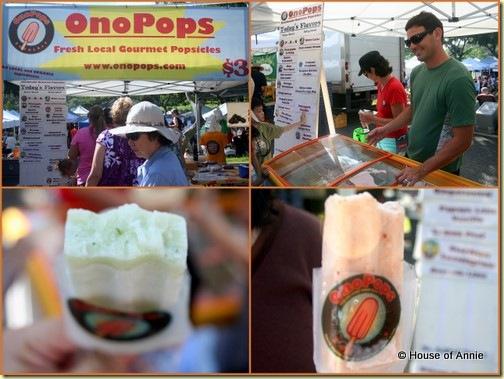 KCC Farmers Market Ono Pops