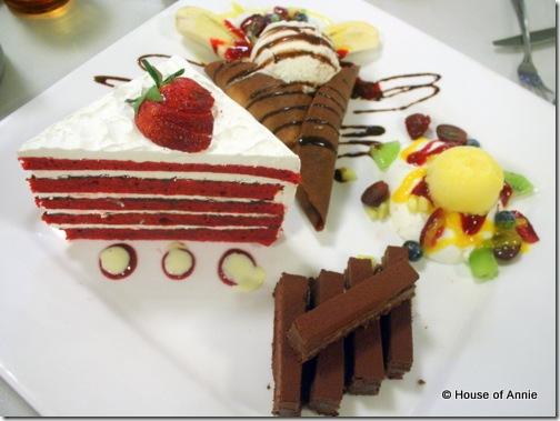 Pah Ke's dessert platter