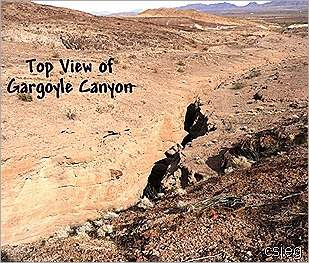 Gargoyle Canyon From the top 03
