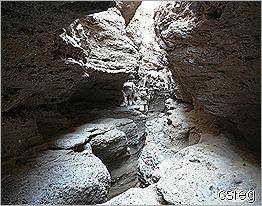 Gargoyle Canyon Tight Spot Ledge 1
