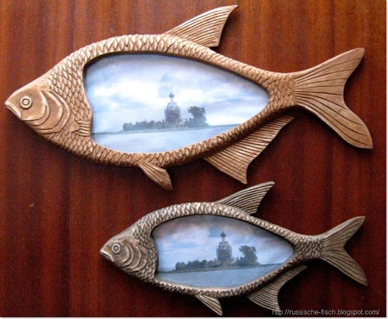 Fische aus Holz