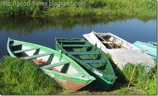 флотилия лодок