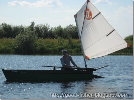 Парусная лодка своими руками - как сделать: чертежи и фото