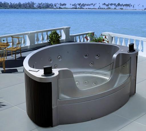 spa portable exterieur