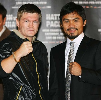Hatton-Pacman Fight