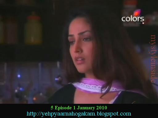 Yami Gautam Yeh Pyaar na hoga kam Colors tv episode pictures