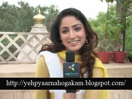 Yami Gautam As Leher Yeh Pyaar Na Hoga Kam Images