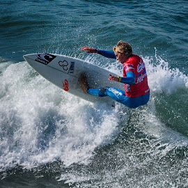 HB Surfer by Jose Matutina - Sports & Fitness Surfing ( orange county, surfer, sea, sport, ocean, huntington beach,  )