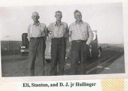 Eli, Stanton and D.J. Hullinger