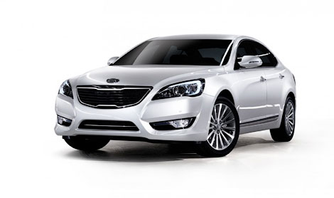 Kia has presented the successor of Opirus Sedan