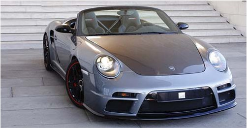 Cabriolet on the basis of Porsche 911 Turbo