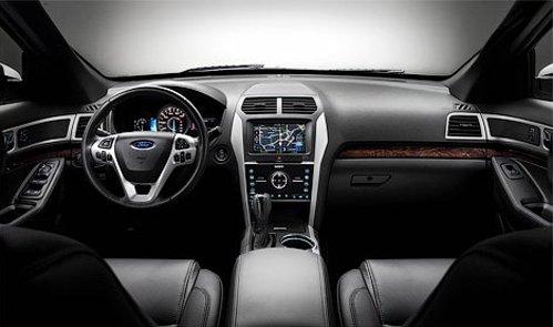 Interior Ford Explorer