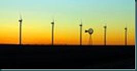 Windmills and sky - Scott