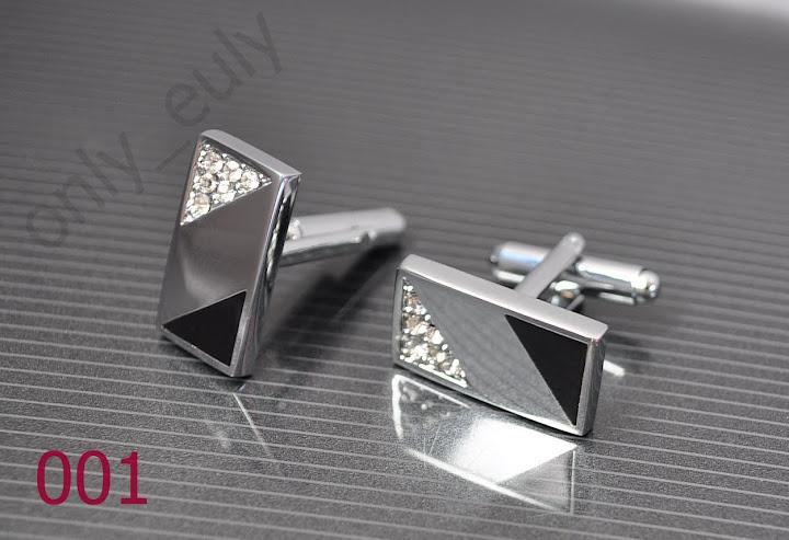 elegante-Manschettenknoepfe-Edelstahl-Silber-schwarz