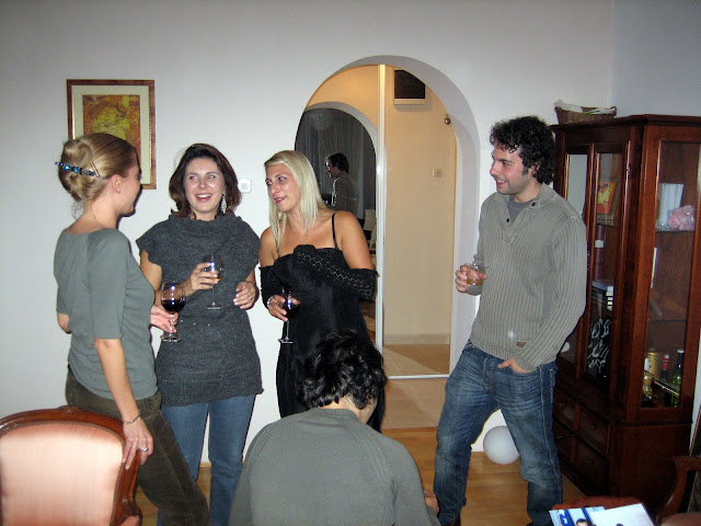Ivana and Friends Enjoy the Party