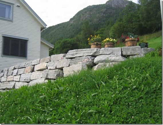 Mur, Helge Ressem. Sommaren 2006 018