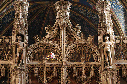 Jubé de la cathédrale Sainte-Cécile d'Albi - Photo gerfaut.d - Flickr