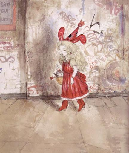 Le petit chaperon rouge par Yoshitaka Amano