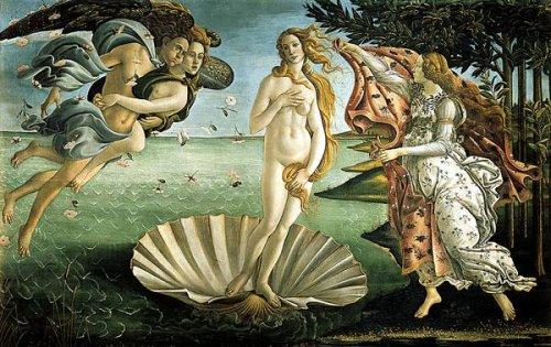La naissance de Vénus - Sandro Botticelli