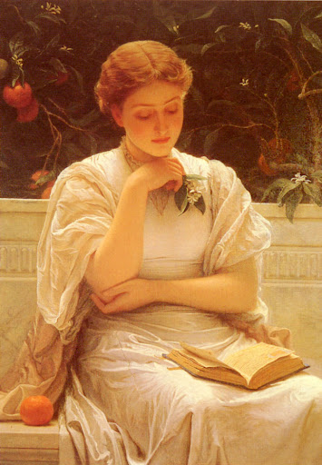 Charles Edward Perugini [ In The Orangery ]