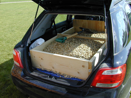 AI - how much stuff can you safely put in your lowered WRX wagon? A lot.