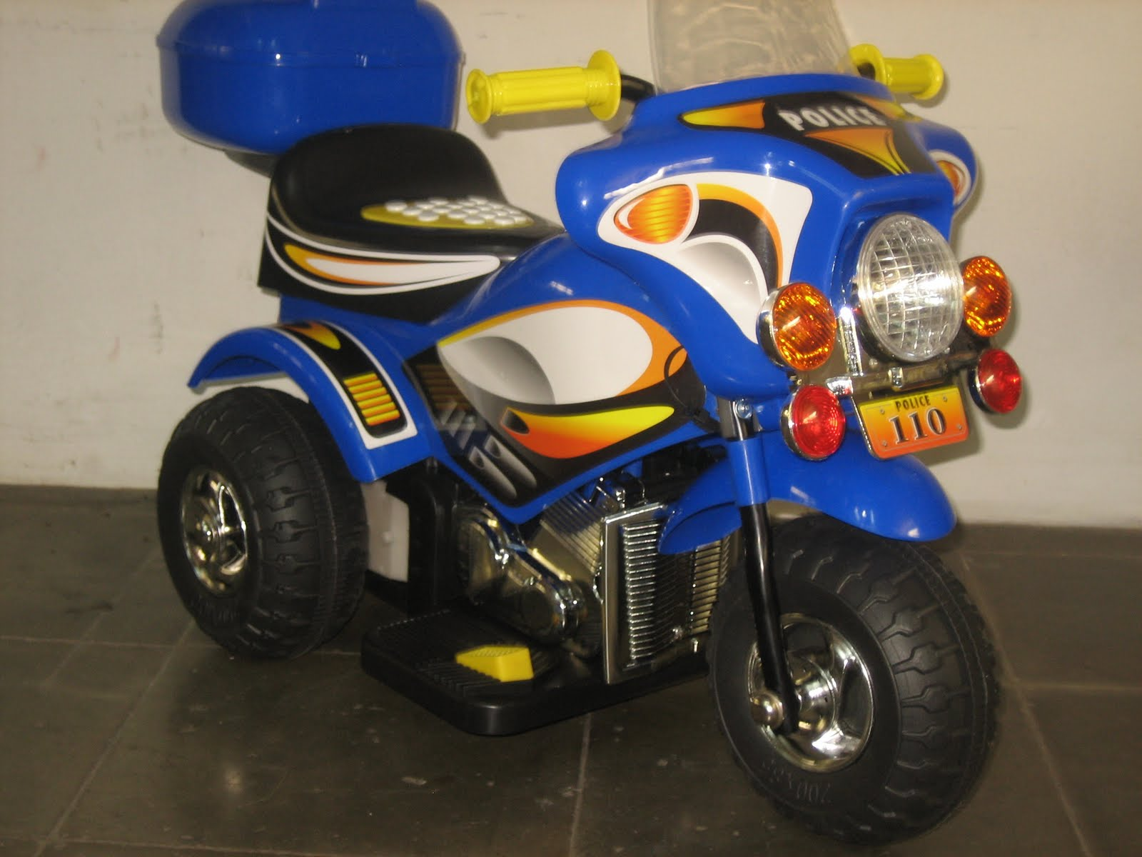 Junior Battery Toy Motorcycle Mahasarana Sukses Tokosarana