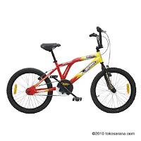 Sepeda BMX WIMCYCLE HOT WHEELS