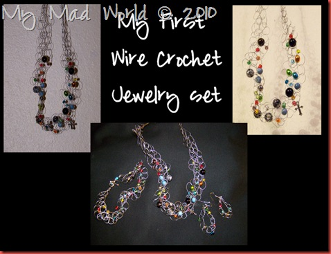 1st wire jewelry set