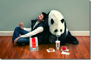 Pandas love Mc Do