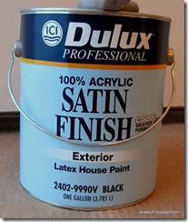 Professional Painting Tips And Techniques Ici Dulux Exterior Acrylic Satin 2402 Black