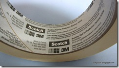 3M 2020 Scotch Masking Tape for Production Painting