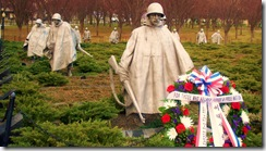 Korean War Memorial - Washington