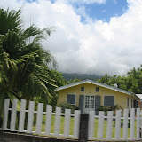 ....wunderschöne Häuschen von den kreolischen Einwohnern