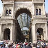 Das Portal zur Millionen-Meile von Mailand