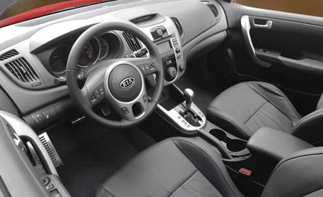kia cerato koup white. Kia+cerato+koup+interior