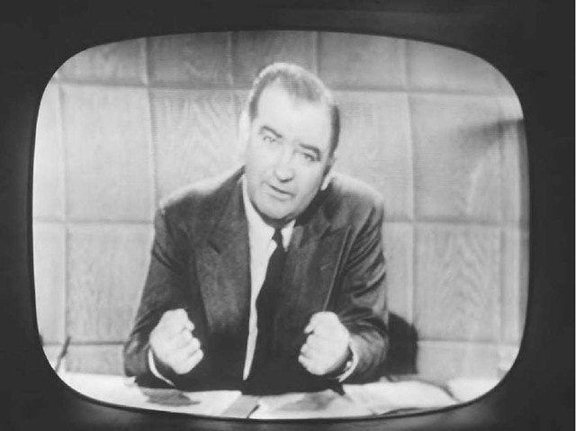 edward murrow exposes the lies of joseph mccarthy in cbs midnight news Just as donald trump does now, joseph mccarthy benefitted from bombast and in mccarthy's case this objective approach was particularly frustrating my own impression was that joe it should also be remembered that mccarthy's disastrous feud with edward r murrow was prefaced by an.