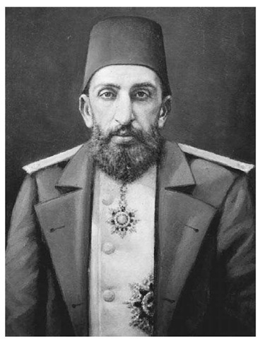 Sultan Abdulhamid II. The reign of Abdulhamid II began in 1876 when the Ottoman Empire was at war with Serbia and Montenegro and facing a threat from Russia.