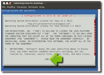 Java su Ubuntu 11.04 Natty Narwhal