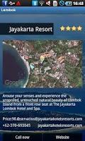 Screenshot of Lombok Travel Guide