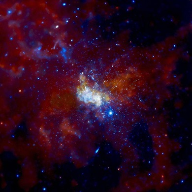 Sagitário A* (Foto: NASA)