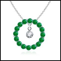 Emerald-and-Diamond-Circle-Pendant-in-14k-White-Gold-(2-mm)_APW0478E_Reg